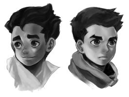 little bolin and mako by E-Lien