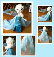 Elsa Amigurumi by DarkWater9