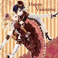 Happy Valentines Day~!!! by AskLizzzyMidford