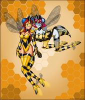 More Bees by Rosvo by singory