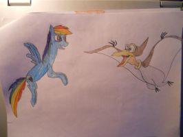 The awesome flyiers by LacitheHunter