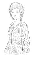 The Last of Us - Lineart by MCorderroure