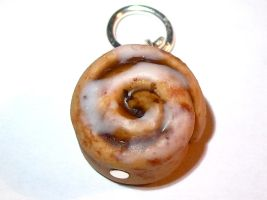 Cinnamon Roll Charm by Crimsonblaide