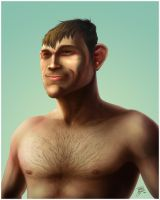 Forrest Griffin by ThiagoBuzzy
