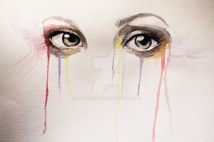 Watercolor eyes by SarasPhoto
