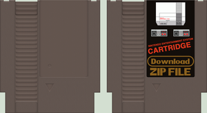 NES Cartridge by BLUEamnesiac