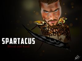 Spartacus by hussainadil