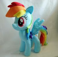 Rainbow Dash - new pattern by PlanetPlush
