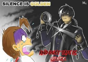 Simon Blackquill - Silence is Golden by Marini4