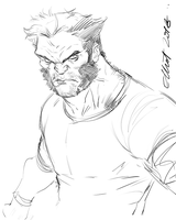 LOGAN Sketch by jerkmonger