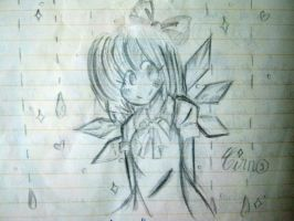 Cirno fan art--masterpiece by quynhanhnguyendac