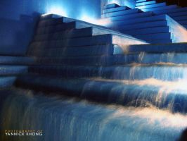 Blue Stairs of Water VII by confucius-zero