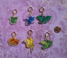 Mini Dragon Key Chains by Skylanth