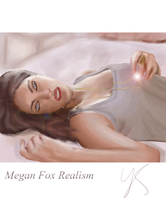 Megan Fox Potrait by Johny-Kun