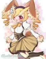 PKMN: Lopunny + Mami by Chaotic-Doodles