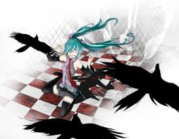 Miku: Love Love Nightmare by VonnaBeee