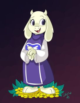 Goat mom by Sibsy