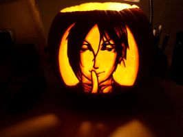 Black Pumpkin - Sebastian by love-mist