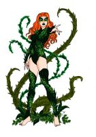 Poison Ivy Redesign 3! by Comicbookguy54321