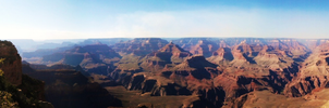 Grand Canyon Panorama by SeveredContemplation