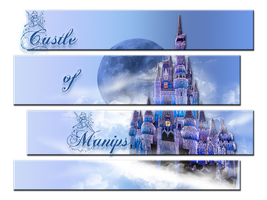 Castle of Manips Banner Header by WDWParksGal-Stock