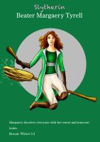 Margaery Slytherin Beater by guad