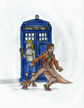 Derpy and the Doctor by Newworlds117