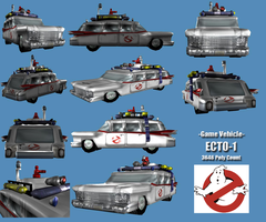 Game Vehicle - Ecto-1 by BlueSerenity