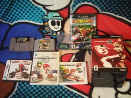 My Mario Kart Collection by MarioSimpson1