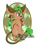 Mint - Commission 2 by Sparkle-And-Sunshine