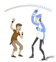 Humanized Regular Show by RavenAnime