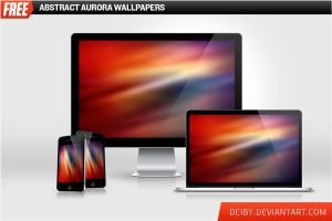 Abstract Aurora Wallpapers by deiby