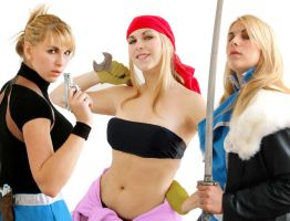 FMA Girls by LilywhiteBlack