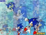 Sonic Tribute by MinaExtemuis