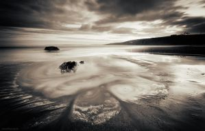 Inch Beach Sunset I by SewerRar