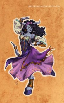Disney meets Warcraft - Heavens Light Esmeralda by LiberLibelula