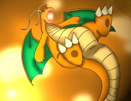 Dragonite by Demonic-Chrono