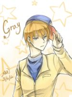 Doodle Gray by christon-clivef