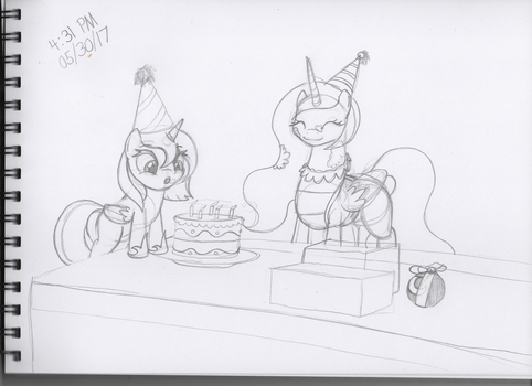 Happy Birthday 2017 - Sketch by ArdonSword