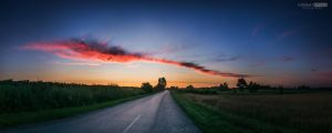 Cloud stripe by NorbertKocsis