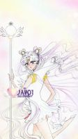 sailor moon - sailor cosmos by zelldinchit