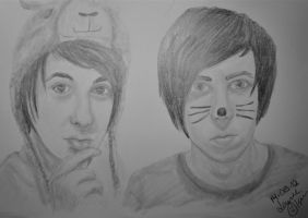 Danisnotonfire and AmazingPhil by Lowse