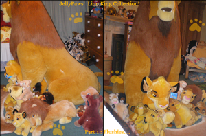 JellyPaws Lion King Collection by JellyPaws