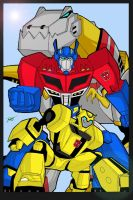 Color Transformers Animated 2 by Venom20XX