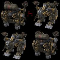 steam mecha boss baddie 2 by strangelet