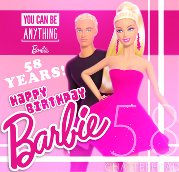 Happy Birthday Barbie! by chatterHEAD