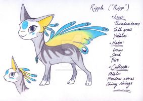 My Finnedyr: Ripple! by CSIllustrator