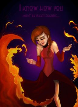 Anna The Fire Queen by RemainUndefined