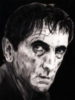 Harry Dean Stanton by monkeyswithbrushes