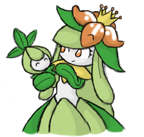 Lilligant and Petilil by RangerRudy
